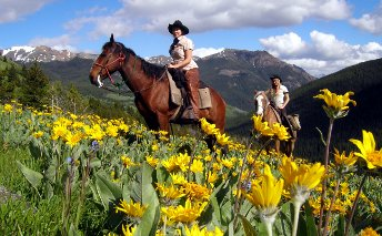 Chilcotin Holidays Lodge Trip Packages-Horse riding