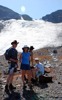 Hikers-hiking