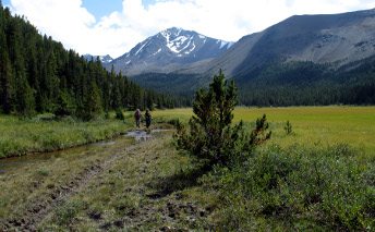 Hiking -South Chilcotin Mountain Information