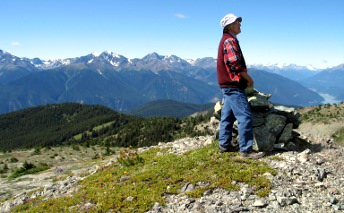 Hiker -Provincial Park
